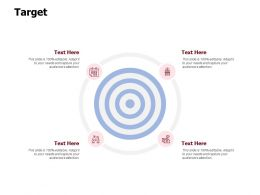 Target Our Goal Arrows C867 Ppt Powerpoint Presentation File Topics
