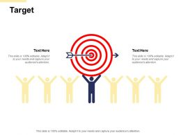 Target Our Goal B113 Ppt Powerpoint Presentation File Tips