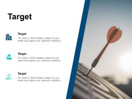Target Our Goal B168 Ppt Powerpoint Presentation File Shapes
