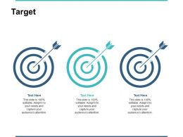 Target Our Goal B23 Ppt Powerpoint Presentation Gallery Influencers