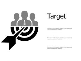 Target Our Goal D307 Ppt Powerpoint Presentation Gallery Deck