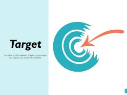 Target Our Mission Goal Marketing Strategy Value Achievement