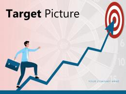 Target Picture Business Decision Progression Employees Organizations Assisting Arrows