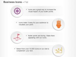 Target Plan To Goal Profit Idea Resource Ppt Icons Graphics