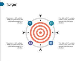 Target Powerpoint Slide Template