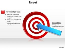 target powerpoint slides presentation diagrams templates