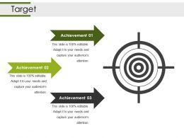 Target Powerpoint Slides Template 1