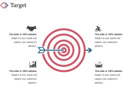 Target Ppt Background Template 1