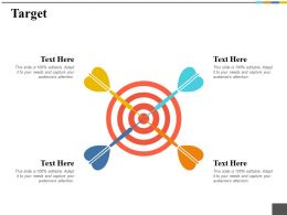 Target Ppt Gallery Vector