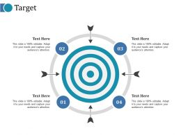 Target Ppt Icon Graphics