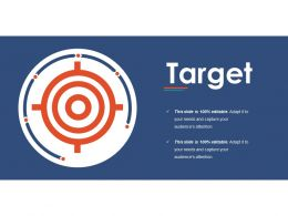 Target Ppt Infographic Template