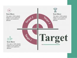 Target Ppt Infographic Template Graphics Download
