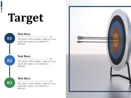 Target Ppt Infographics Format