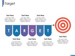 Target Ppt Infographics Influencers