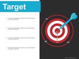 Target Ppt Infographics Information