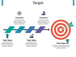 Target Ppt Outline Master Slide