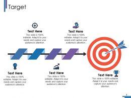 Target Ppt Portfolio Design Templates