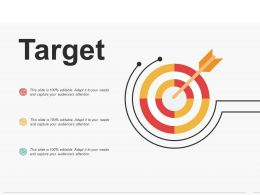 Target Ppt Portfolio Visual Aids