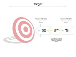 Target Ppt Powerpoint Presentation Show Professional