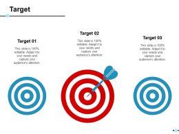 Target Ppt Slides Background
