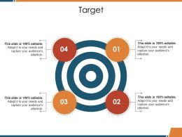 Target Ppt Visual Aids Diagrams