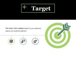 Target Ppt Visual Aids Inspiration