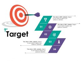 Target Ppt Visual Aids Outline