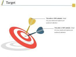 Target Presentation Backgrounds Template 2