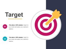 Target Presentation Images Template 1