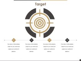Target Presentation Portfolio
