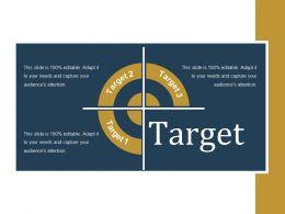 Target Presentation Powerpoint Example