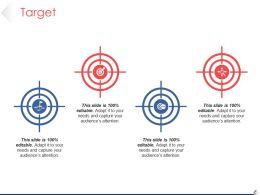 Target Presentation Powerpoint Template 1