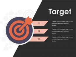 Target Presentation Slides Template 1