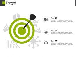 Target Presentation Visual Aids