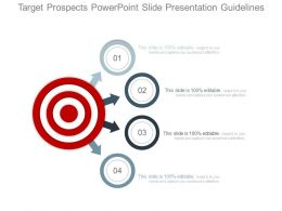 Target Prospects Powerpoint Slide Presentation Guidelines