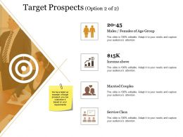 Target Prospects Powerpoint Slide Show Templates 1