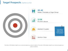 Target Prospects Ppt Inspiration