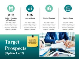 Target Prospects Ppt Presentation Examples Template 1