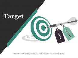 Target Sample Ppt Presentation