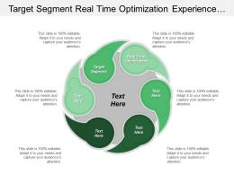 Target Segment Real Time Optimization Experience Automation Motivation Value