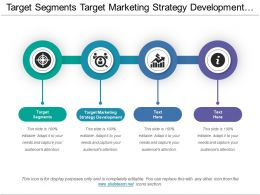 Target Segments Target Marketing Strategy Development Marketing Framework