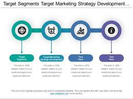 Target Segments Target Marketing Strategy Development Marketing Framework