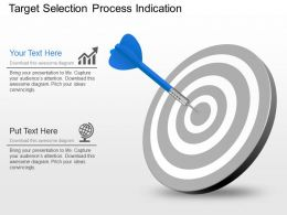 Target Selection Process Indication Powerpoint Template Slide