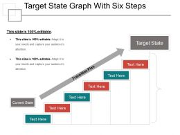 Target State Graph With Six Steps