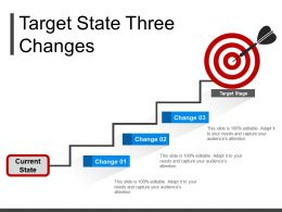 Target State Three Changes