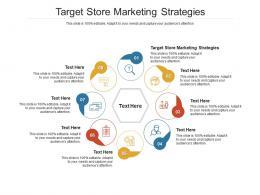 Target Store Marketing Strategies Ppt Powerpoint Presentation Outline Slideshow Cpb