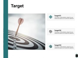 Target Three Arrow C208 Ppt Powerpoint Presentation Outline Background