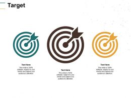 Target Three Arrows C188 Ppt Powerpoint Presentation Gallery Clipart