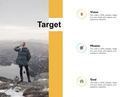 Target Vision Goal Ppt Powerpoint Presentation Icon Layouts