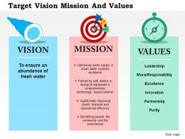 target_vision_mission_and_values_flat_powerpoint_design_Slide01